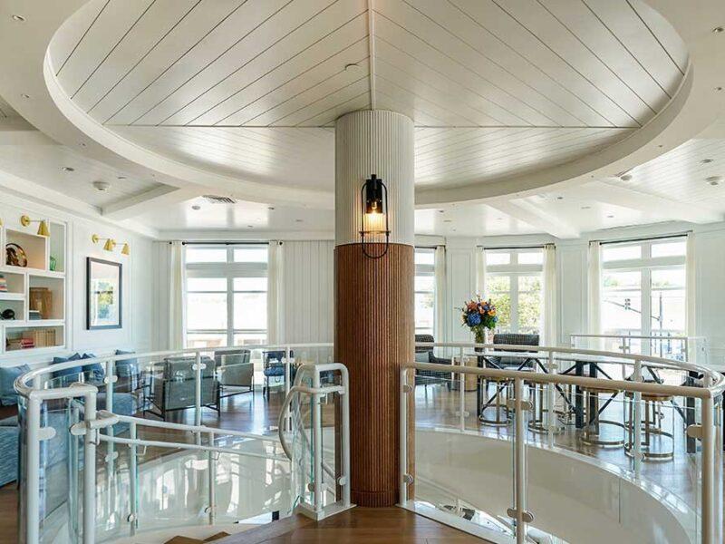 Brenton hotel Library